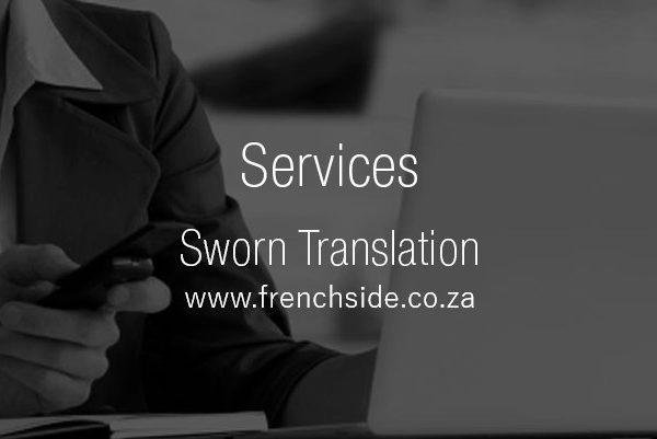 meaning of sworn translator