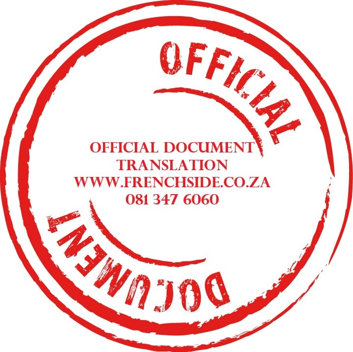 Certified Translation Service Johannesburg